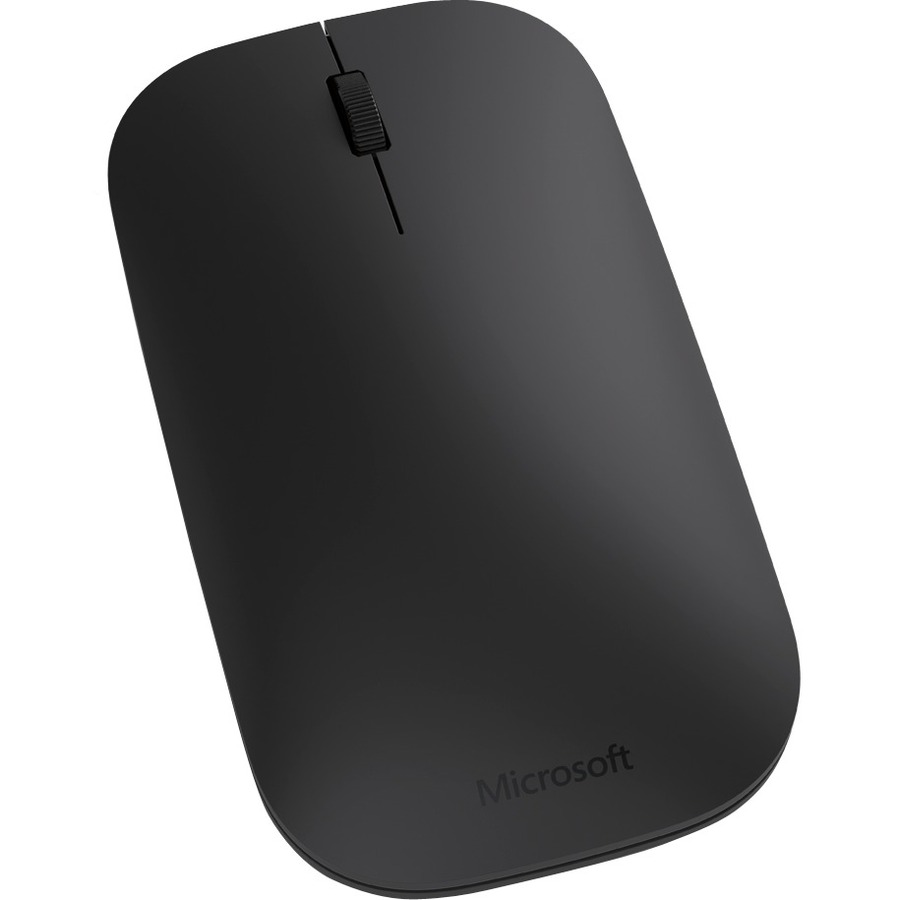 Microsoft Mouse - BlueTrack - Wireless - 3 Buttons - Black