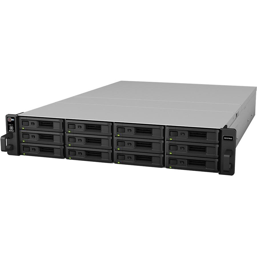 Synology RX1216SAS Drive Enclosure - 2U Rack-mountable
