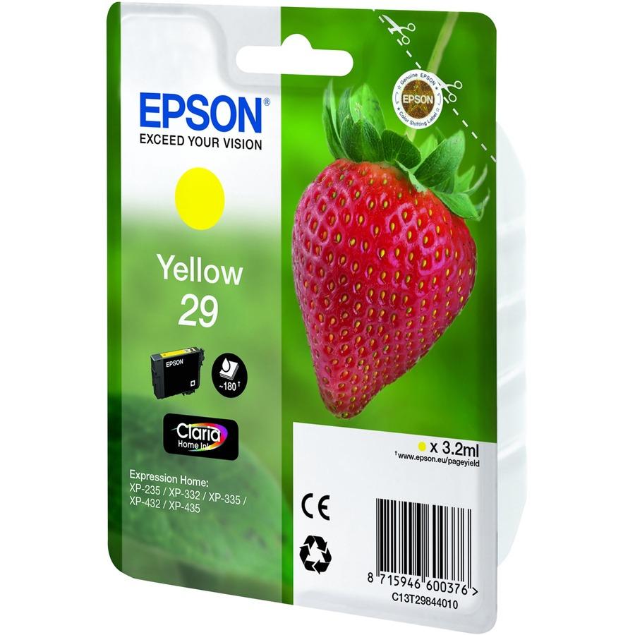 Epson 29 - Yellow - original - ink cartridge - for Expression Home XP-235, XP-332, XP-335, XP-432, XP-435