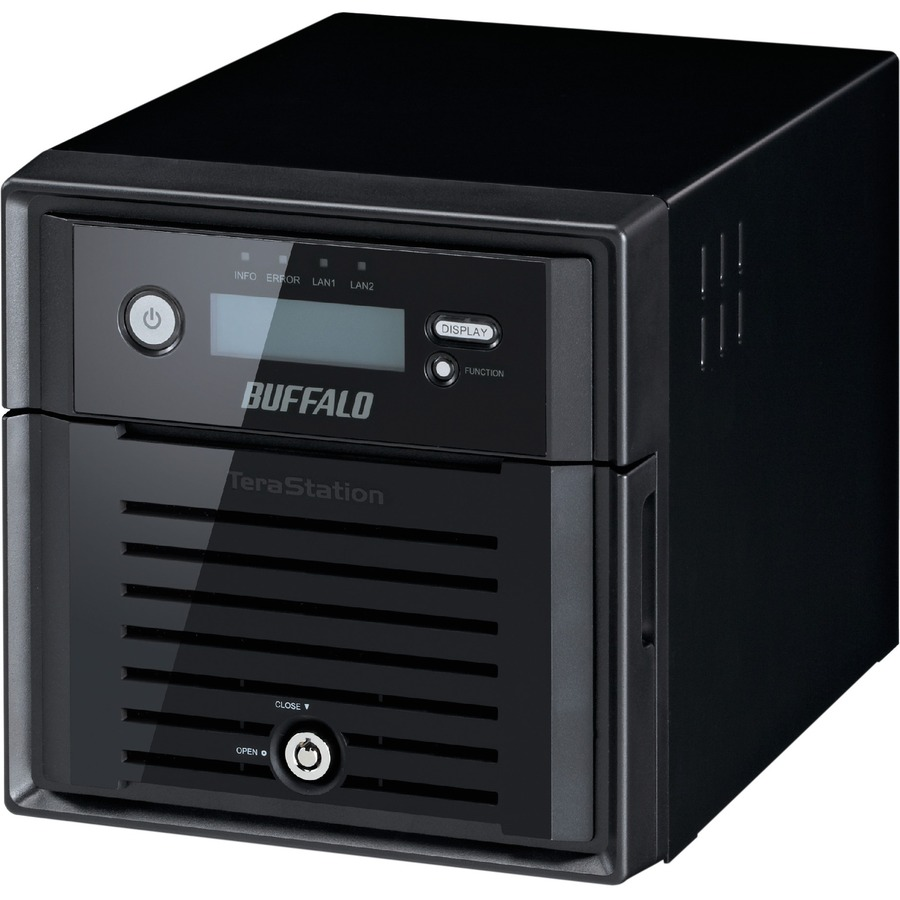 Buffalo TeraStation 3200 2 x Total Bays NAS Server - Desktop - Marvell ARMADA XP MV78230 Dual-core 2 Core 1.33 GHz - 2 TB HDD - 1 GB RAM DDR3 SDRAM - Serial ATA/30
