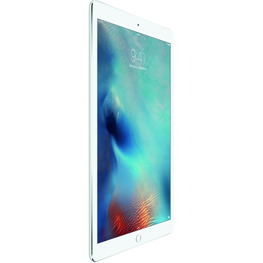 Apple iPad Pro Tablet - 32.8 cm 12.9inch - Apple A9X - 128 GB - iOS 9 - Retina Display - Silver - Wireless LAN - Bluetooth - Lightning - Digital Compass, Gyro Sensor,