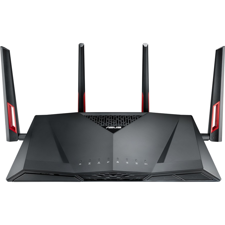 ASUS RT-AC88U IEEE 802.11ac Ethernet Wireless Router - 2.40 GHz ISM Band - 5 GHz UNII Band