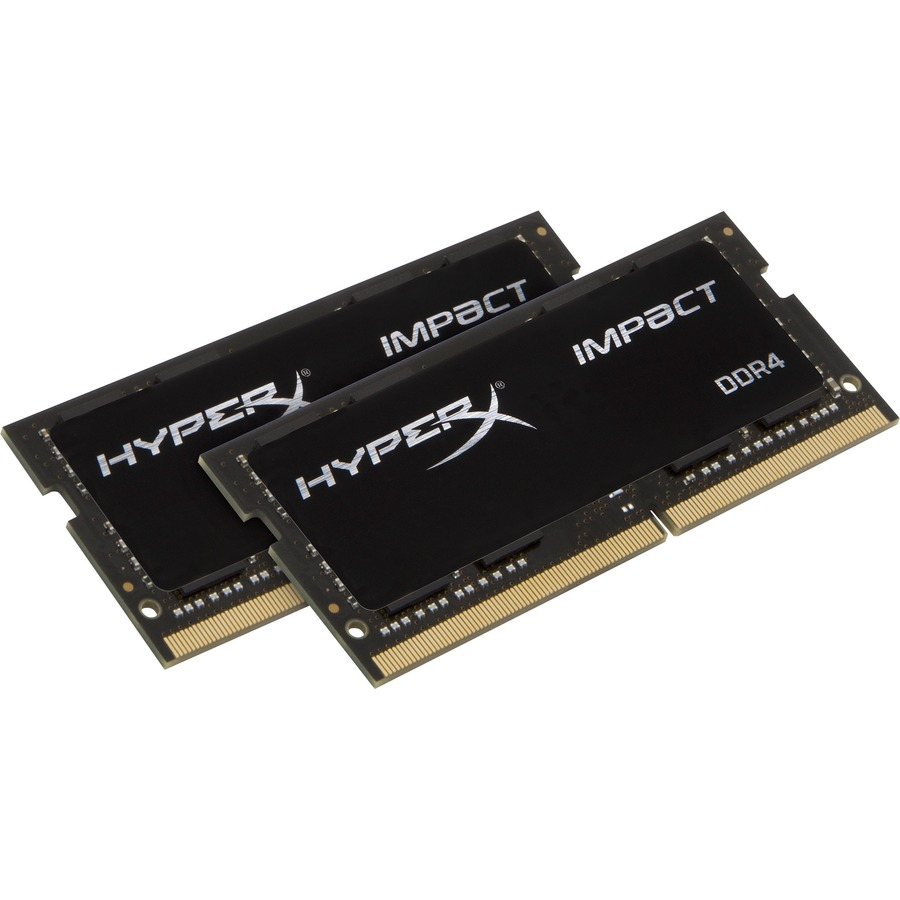 Kingston HyperX Impact RAM Module - 32 GB 2 x 16 GB - DDR4 SDRAM - 2133 MHz DDR4-2133/PC4-17000 - 1.20 V - Non-ECC - Unbuffered - CL13 - 260-pin - SoDIMM