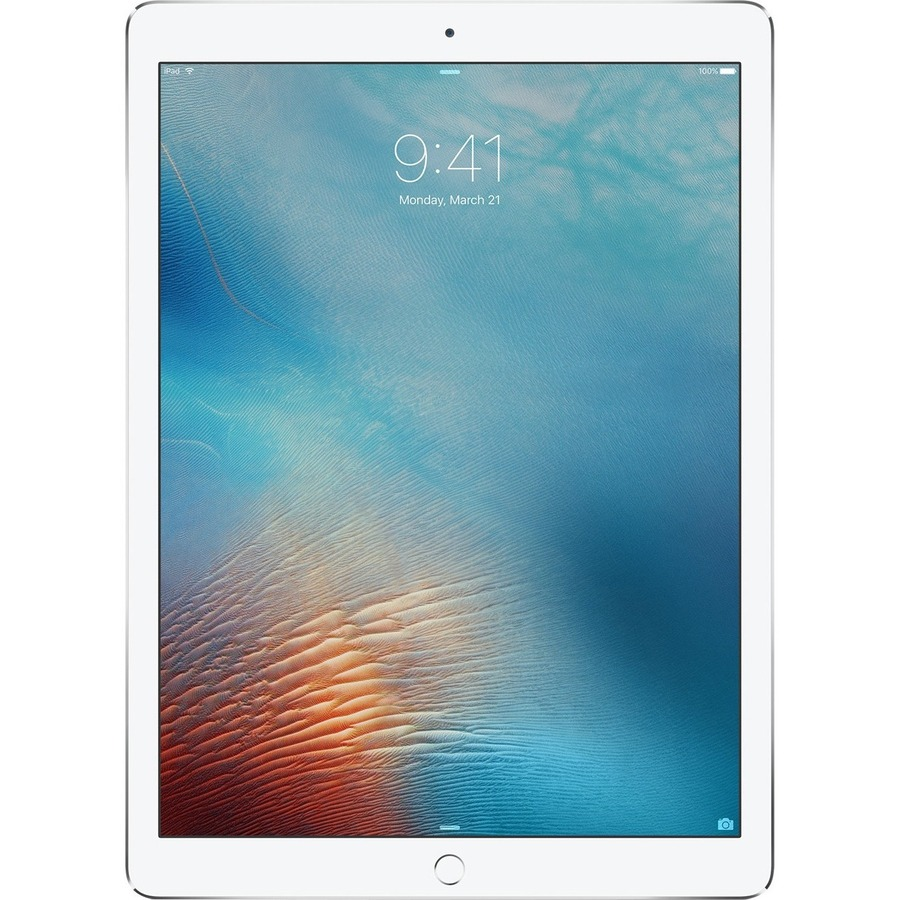 Apple iPad Pro Tablet - 24.6 cm 9.7inch - Apple A9X Dual-core 2 Core - 32 GB - iOS 9 - 2048 x 1536 - Retina Display - 4G - GSM, CDMA2000 Supported - Silver - 4:3 As