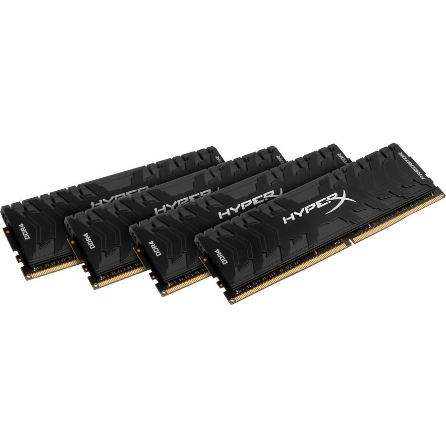 Kingston HyperX Predator RAM Module - 16 GB 4 x 4 GB - DDR4 SDRAM - 3000 MHz DDR4-3000/PC4-24000