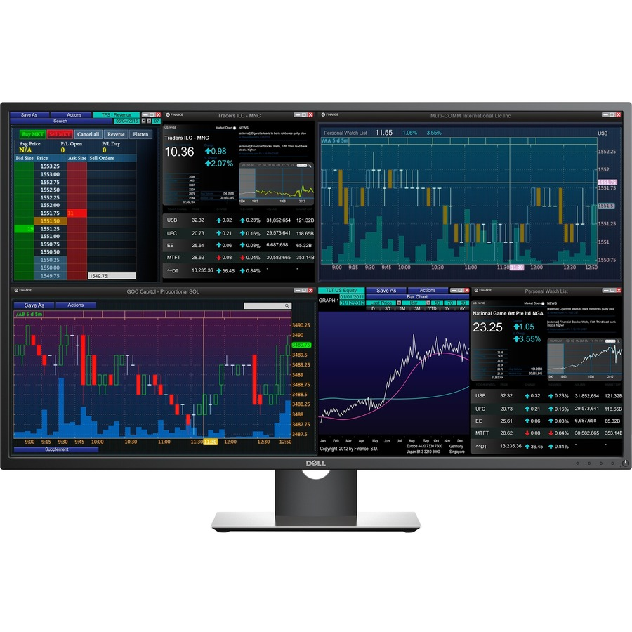 Dell P4317Q 43inch  LED Edge LCD Monitor - 16:9 - 8 ms
