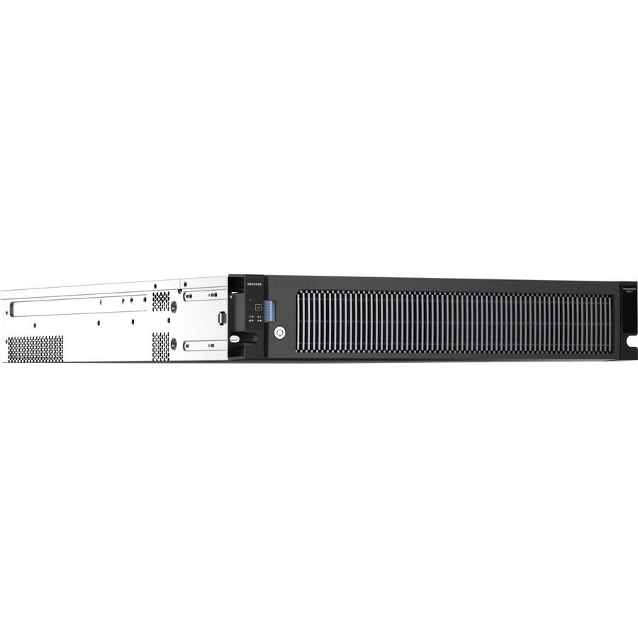 Netgear ReadyNAS 4312X 12 x Total Bays SAN/NAS Server - 2U - Rack-mountable - Intel Xeon Quad-core
