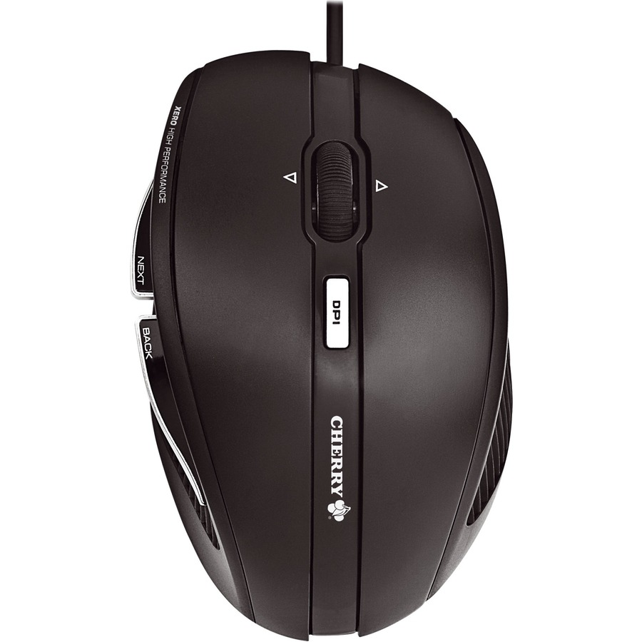 CHERRY MC 3000 Mouse - Optical - Cable - 5 Buttons - Black