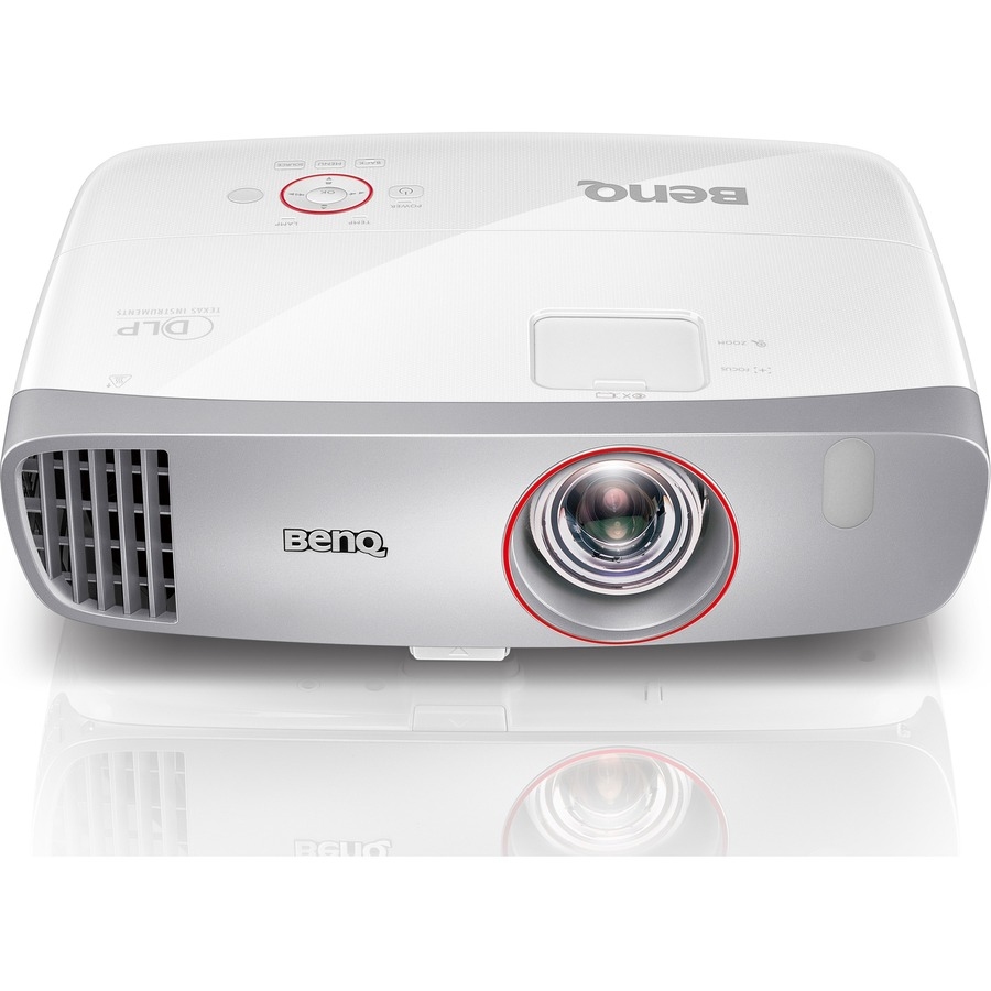 BENQ W1210ST 3D Ready DLP Projector - 1080p - HDTV - 16:9 - Ceiling, Front - 240 W