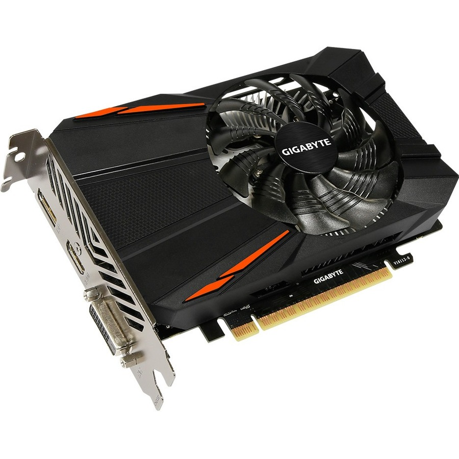 GIGABYTE Ultra Durable 2 GV-N1050D5-2GD GeForce GTX 1050 Graphic Card - 1.38 GHz Core