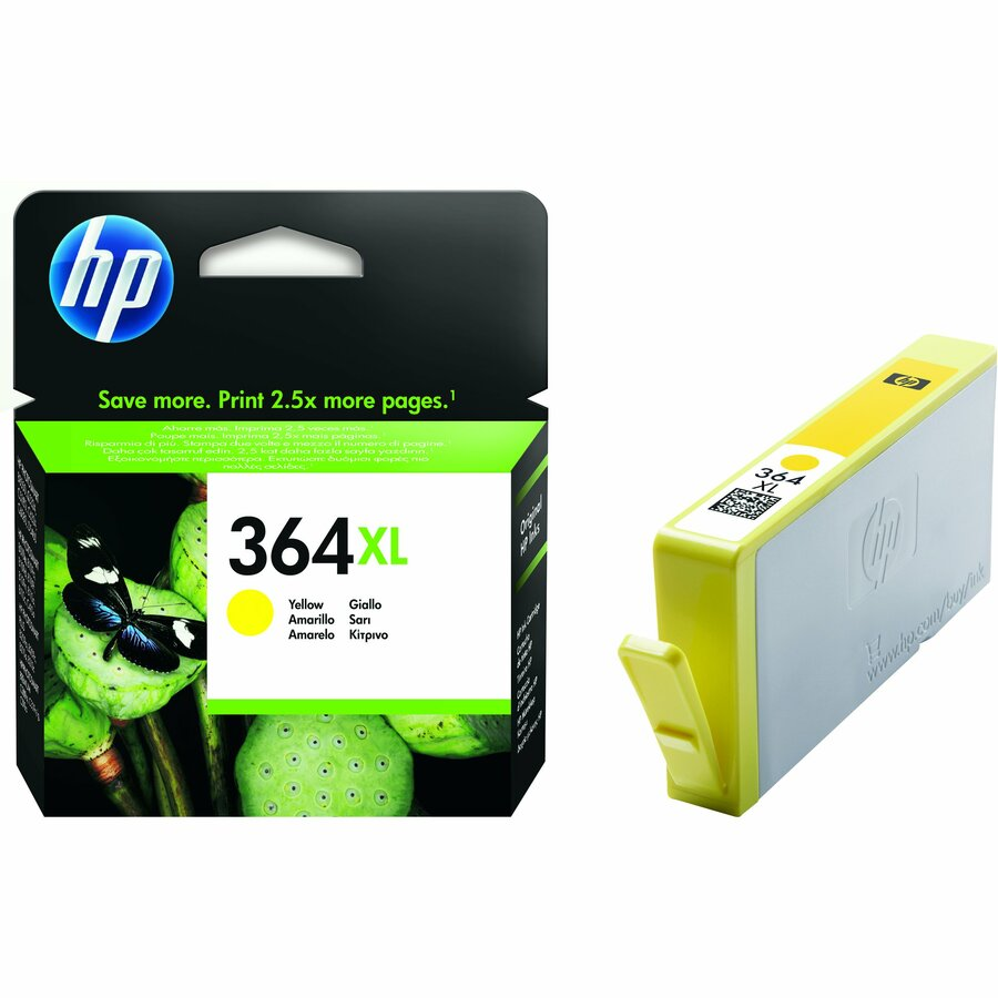 HP 364XL Yellow Ink Cartridge