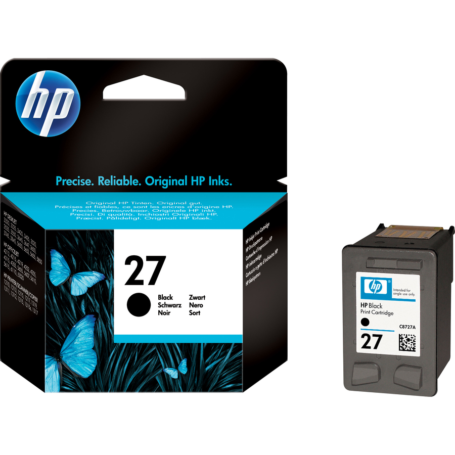 HP No. 27 Ink Cartridge - Black