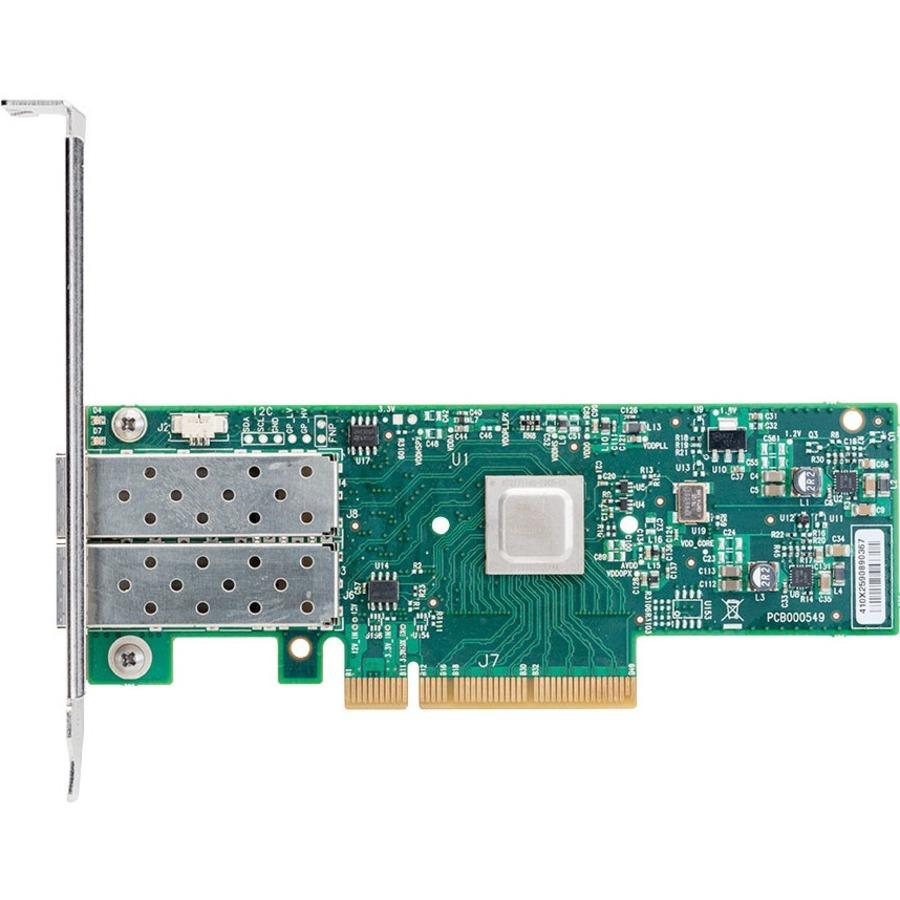 Mellanox ConnectX-4 MCX4121A-XCAT 10Gigabit Ethernet Card - PCI Express 3.0 x8 - 2 Ports - Optical Fiber