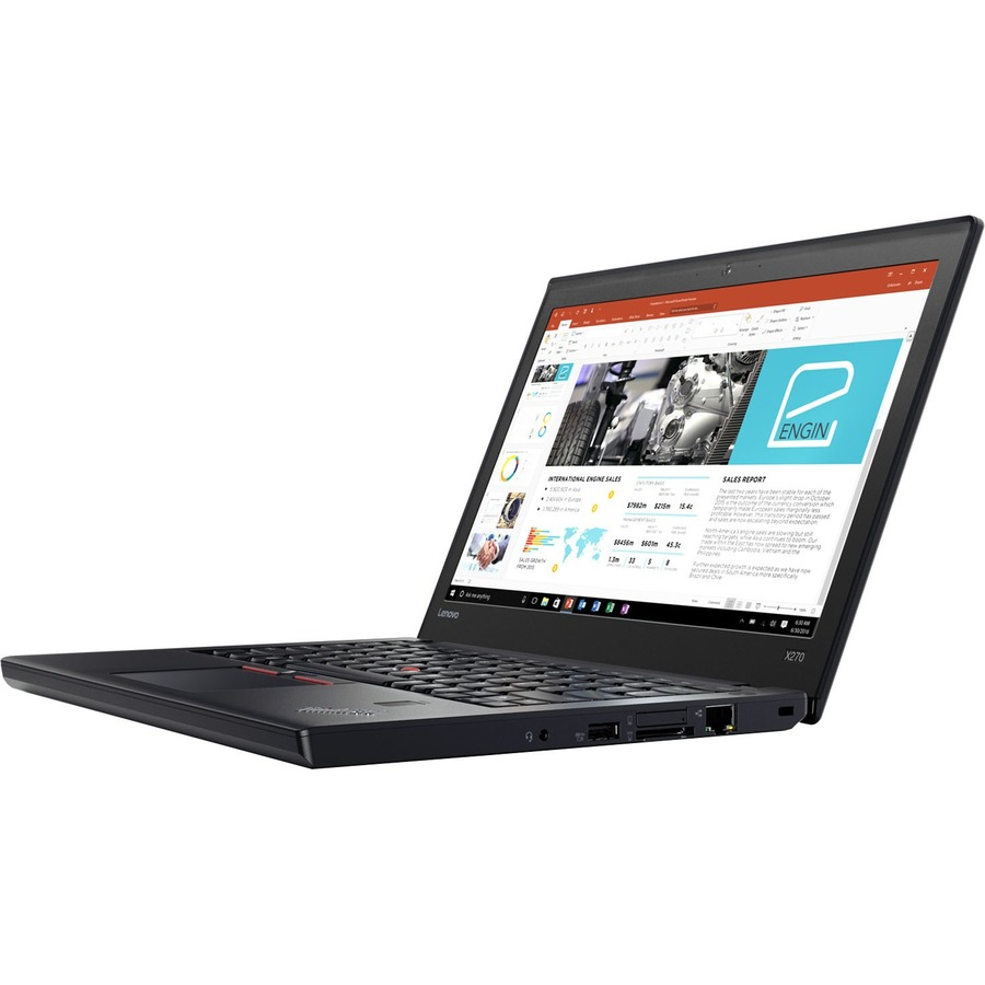 Lenovo ThinkPad X270 20HN001EUK 31.8 cm 12.5inch LCD Notebook - Intel Core i7 7th Gen i7-7600U Dual-core 2 Core 2.80 GHz - 8 GB DDR4 SDRAM - 256 GB SSD - Windows