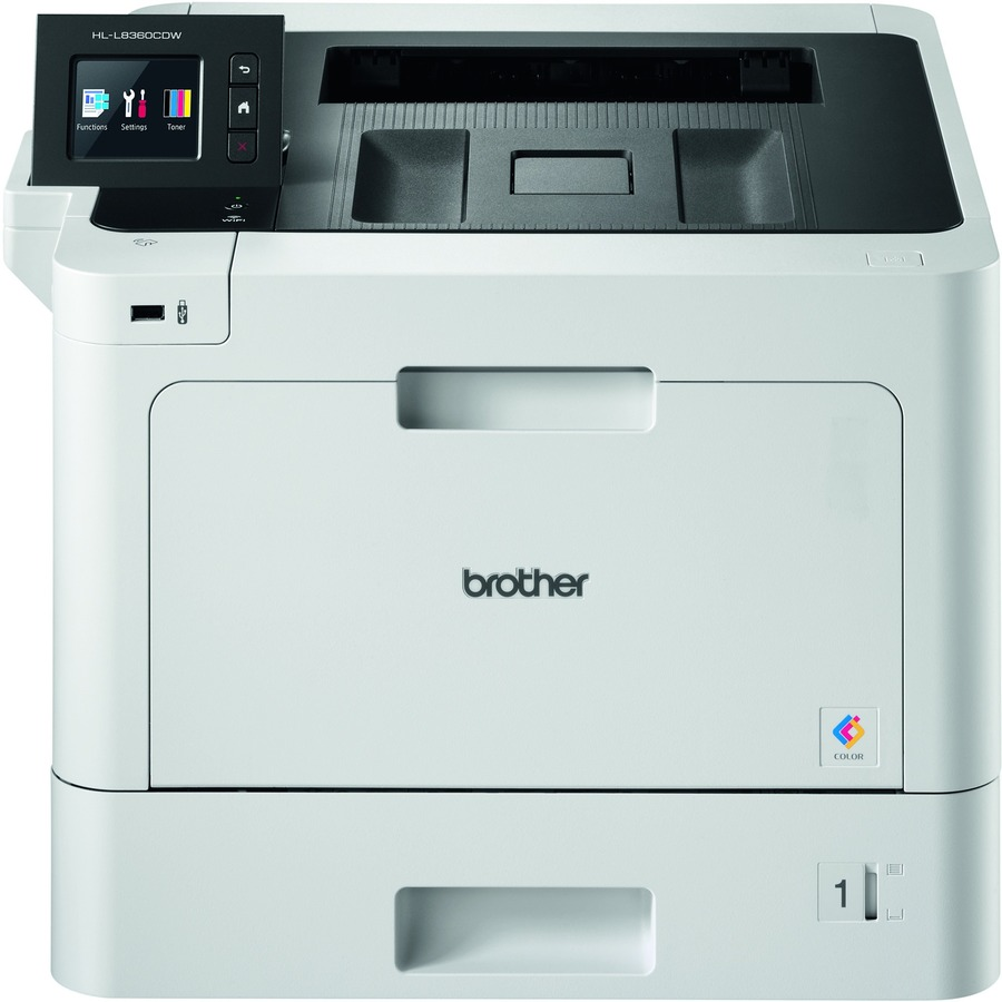 Brother HL-L8360CDW Laser Printer - Colour - 2400 x 600 dpi Print - Plain Paper Print - Desktop - 31 ppm Mono / 31 ppm Color Print - A5, Folio, Legal, Letter, A4, Ex
