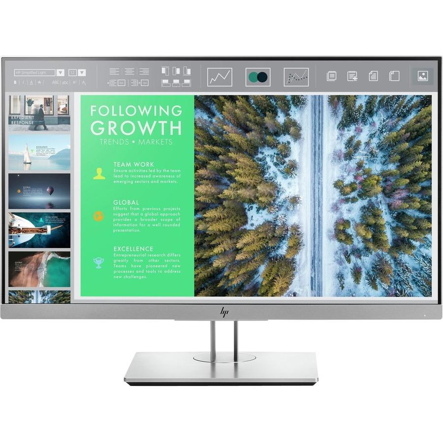 HP Business E243 60.5 cm 23.8And#34; Full HD WLED LCD Monitor - 16:9 - Black/Silver - 1920 x 1080 - 250 cd/mAndamp;#178; - 5 ms - HDMI - VGA - DisplayPort