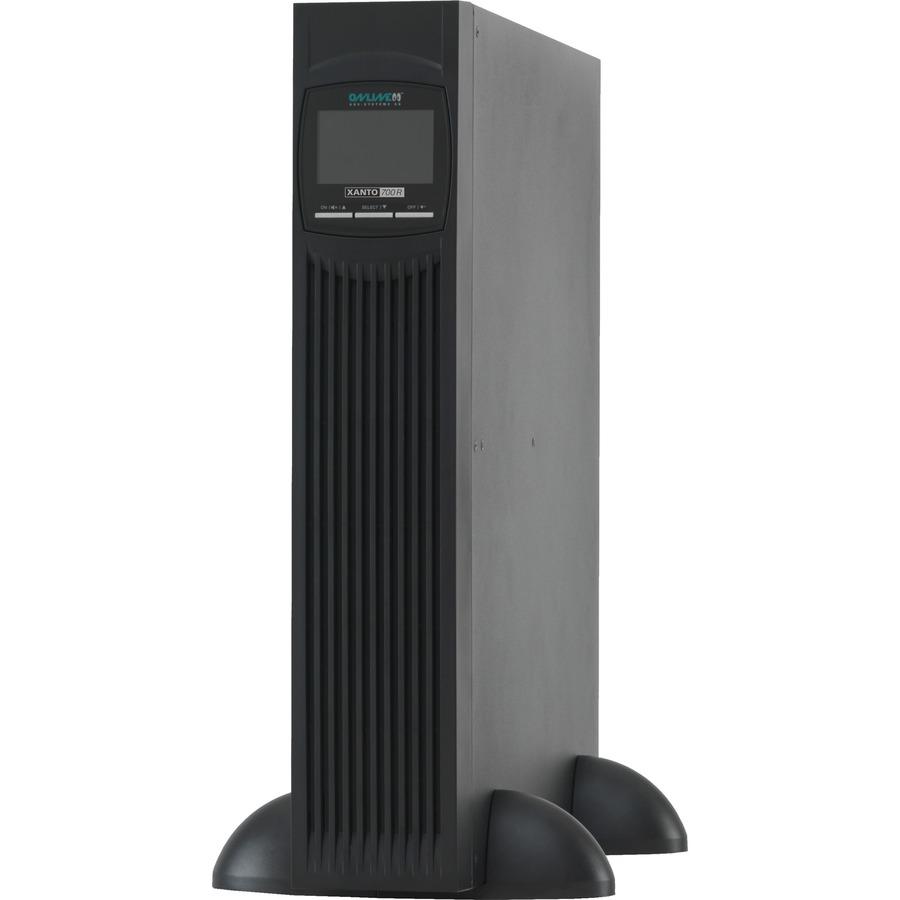 ONLINE XANTO Dual Conversion Online UPS - 700 VA/700 W - Tower/Rack Mountable