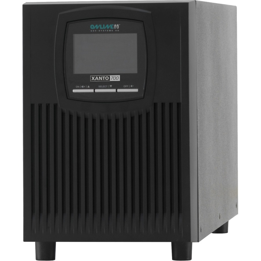 ONLINE XANTO Dual Conversion Online UPS - 700 VA/700 W - Tower - 4 Hour Battery Recharge Time