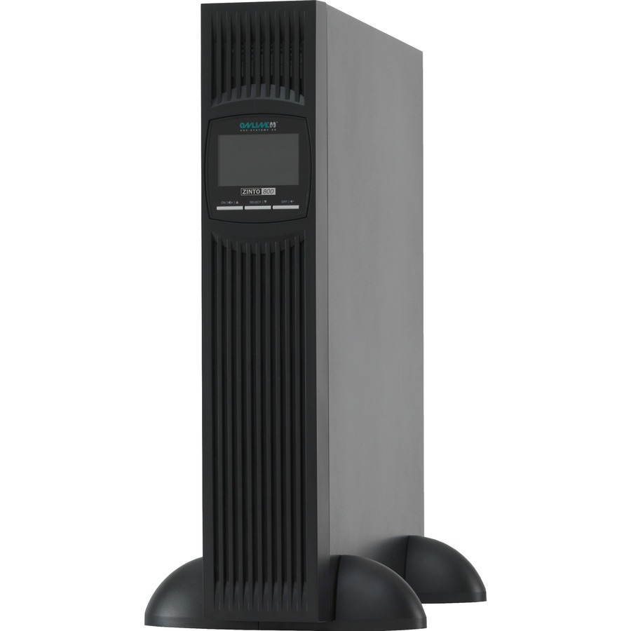 ONLINE ZINTO Line-interactive UPS - 800 VA/720 W - 2U Tower/Rack Mountable