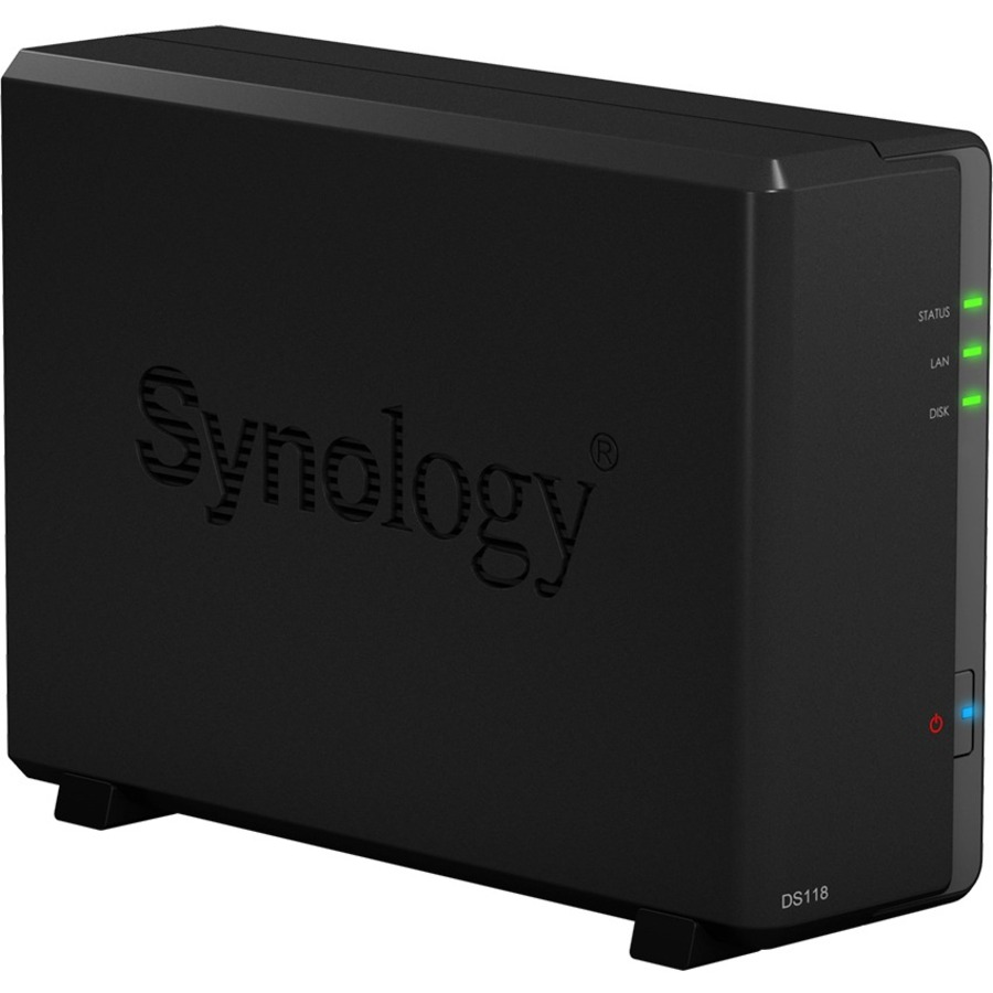 SYNOLOGY DiskStation DS118 1 x Total Bays SAN/NAS Storage System - Compact