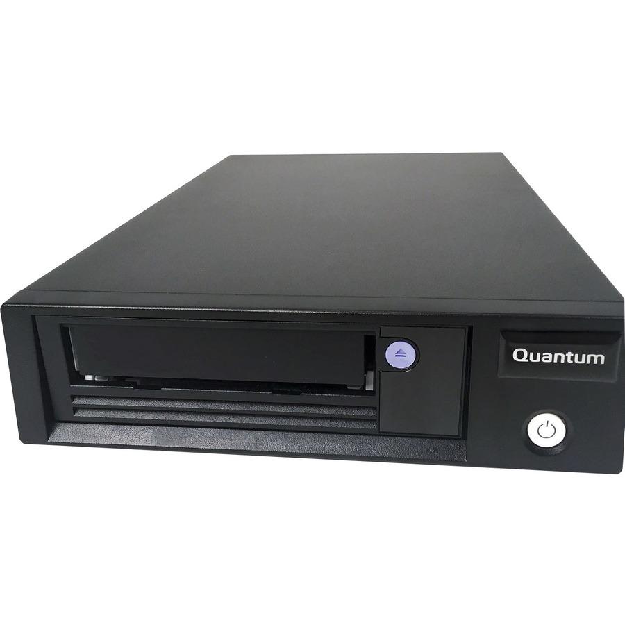 QUANTUM LTO-8 Tape Drive - 12 TB (Native)/30 TB (Compressed) - Black - 6Gb/s SAS - 133.35 mm Width