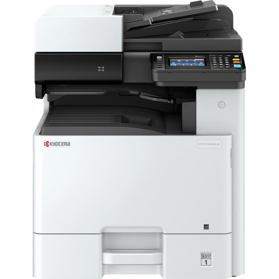 Kyocera Ecosys M8124cidn Laser Multifunction Printer - Colour - Copier/Printer/Scanner - 24 ppm Mono/24 ppm Color Print - 1200 x 1200 dpi Print - Automatic Duplex Pr