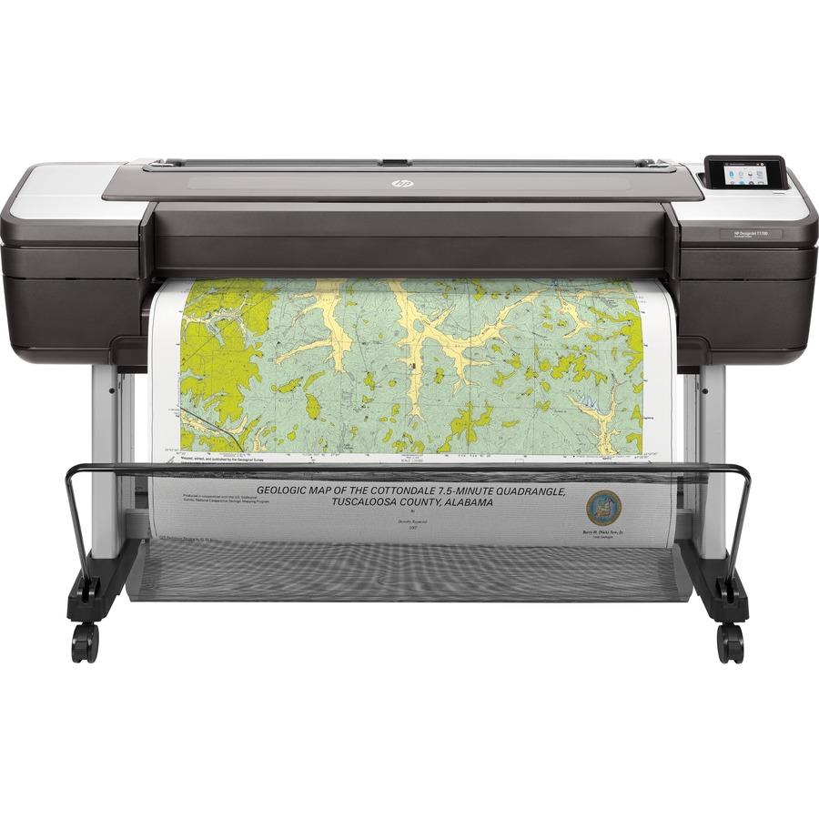 "HP Designjet T1700 Inkjet Large Format Printer - 1118 mm (44.02) Print Width - Colour - Printer"""