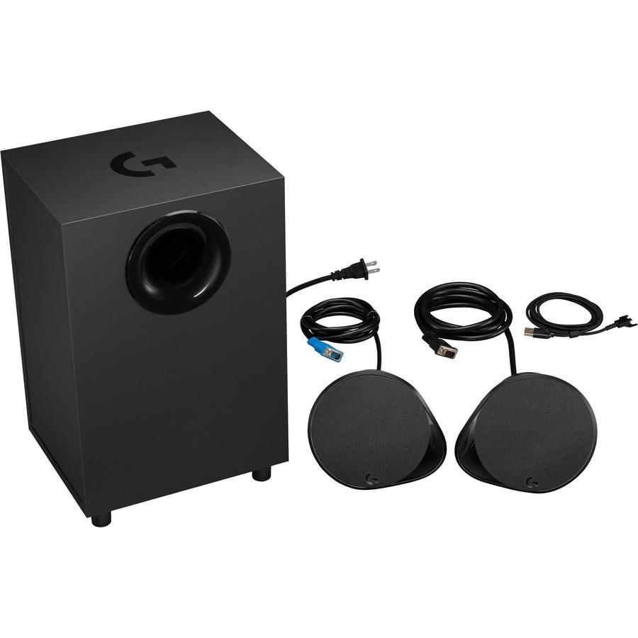 Logitech LIGHTSYNC G560 2.1 Speaker System - 120 W RMS - Wireless Speakers