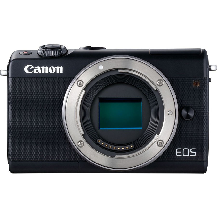"""CANON EOS M100 24 Megapixel Mirrorless Camera Body Only - Black - 7.6 cm (3) Touchscreen LCD"""""""