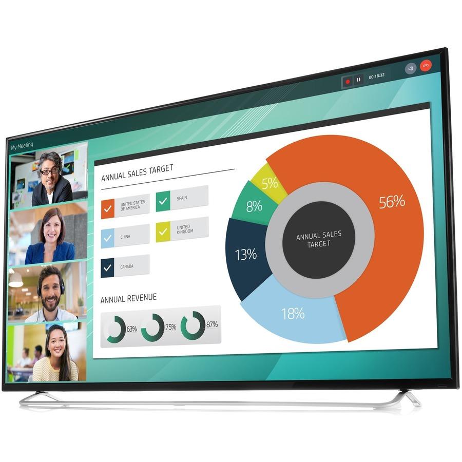 "HP Business LD5512 139.7 cm (55) LED LCD Monitor - 16:9 - 8 ms GTG - 3840 x 2160 - 350 cd/m²"""