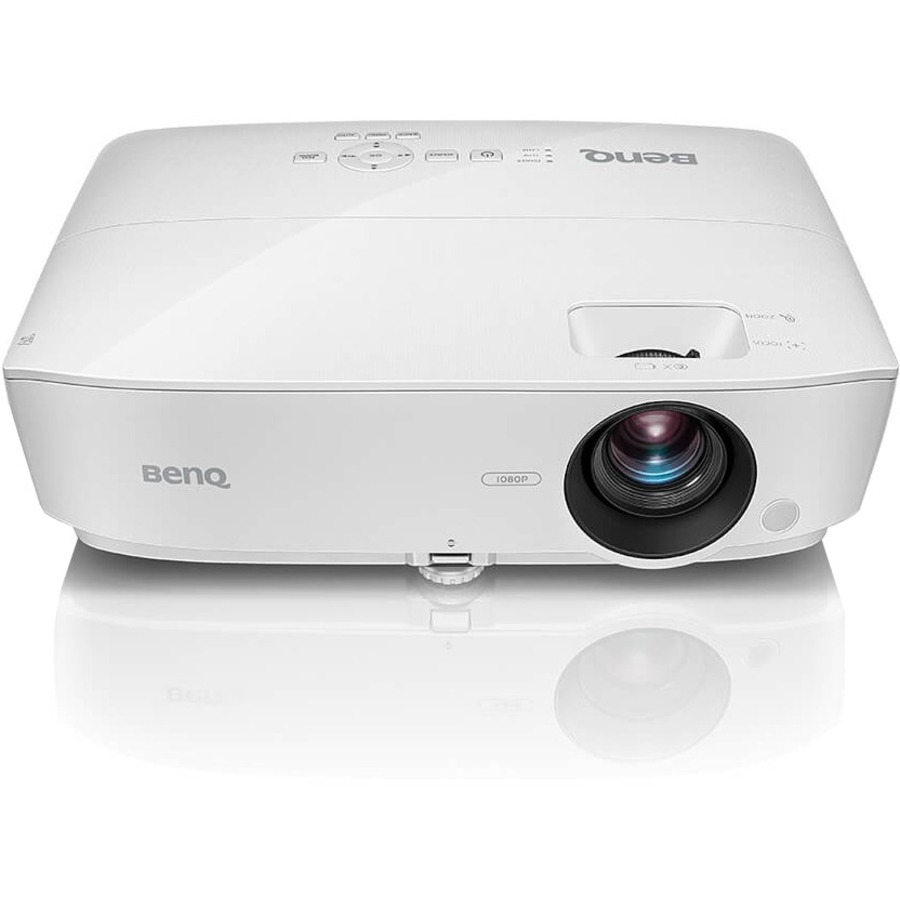 BENQ MH535 3D Ready DLP Projector - 1080p - HDTV - 16:9 - Front, Ceiling - 5000 Hour Normal Mode