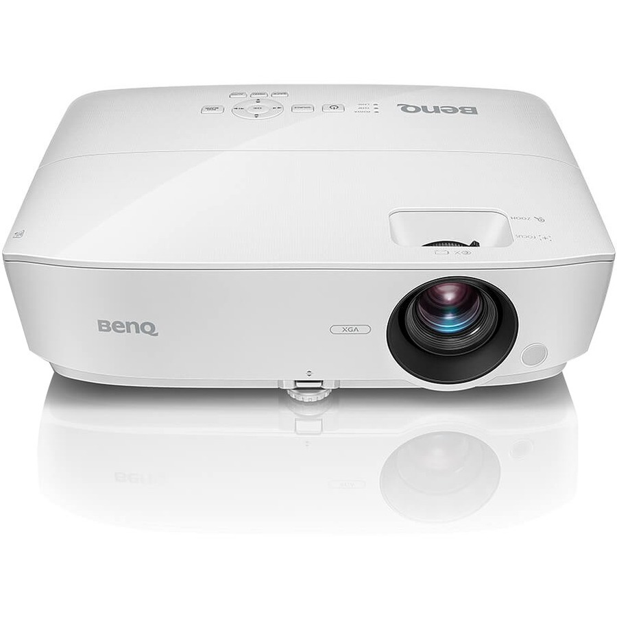 BENQ MX535 3D Ready DLP Projector - 720p - HDTV - 4:3 - Ceiling, Front - 203 W