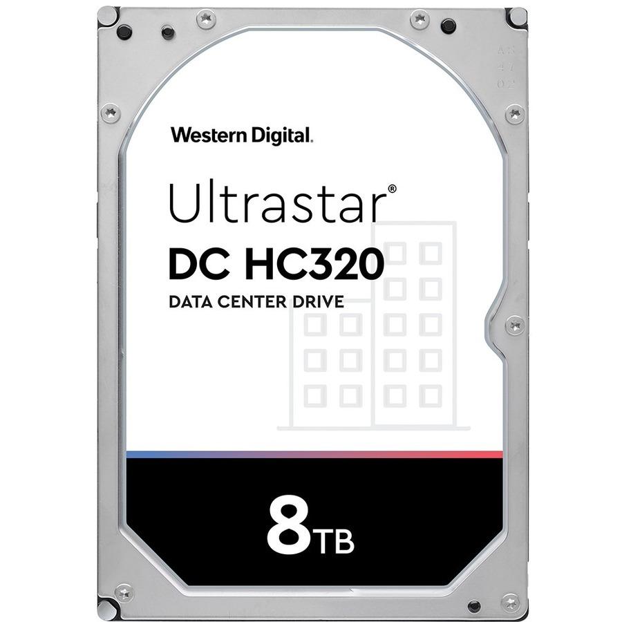 HGST Ultrastar DC HC320 HUS728T8TAL4205 8 TB Hard Drive - SAS (12Gb/s SAS)  - 3 5