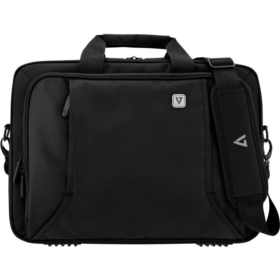 V7 Professional CTP14-BLK-9E Carrying Case Briefcase 35.8 cm 14.1inch Notebook, Chromebook, Ultrabook, MacBook Pro - Black
