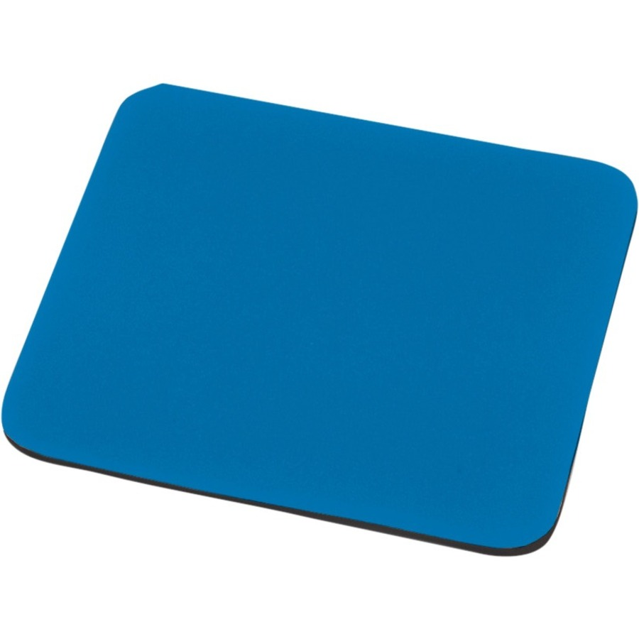 EDNET Mouse Pad - 248 mm x 216 mm Dimension - Blue - Polyester, EVA