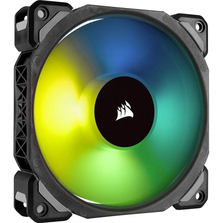 CORSAIR ML120 PRO RGB Cooling Fan - Case - 1 x 120 mm - 1 - 1600 rpm - 1 x 47.3 CFM
