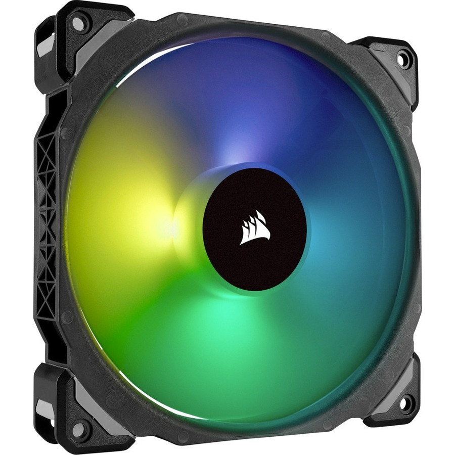 CORSAIR ML140 PRO RGB Cooling Fan - Case - 1 x 140 mm - 1 - 1200 rpm - 1 x 55.4 CFM
