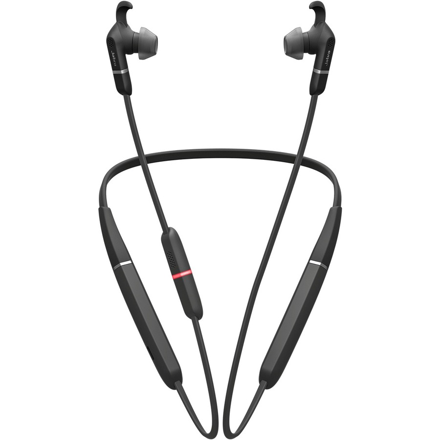 JABRA EVOLVE 65e MS Wireless Behind-the-neck, Earbud Stereo Earset - In-ear - 30 m - Bluetooth