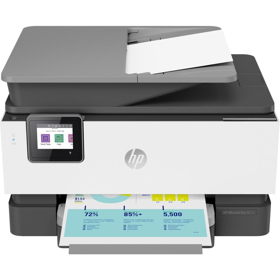 HP Officejet Pro 9014 Inkjet Multifunction Printer - 1200 x 1200 dpi Print