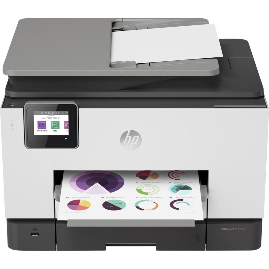 HP Officejet Pro 9020 Inkjet Multifunction Printer - Colour - 24 ppm Mono/24 ppm Color Print