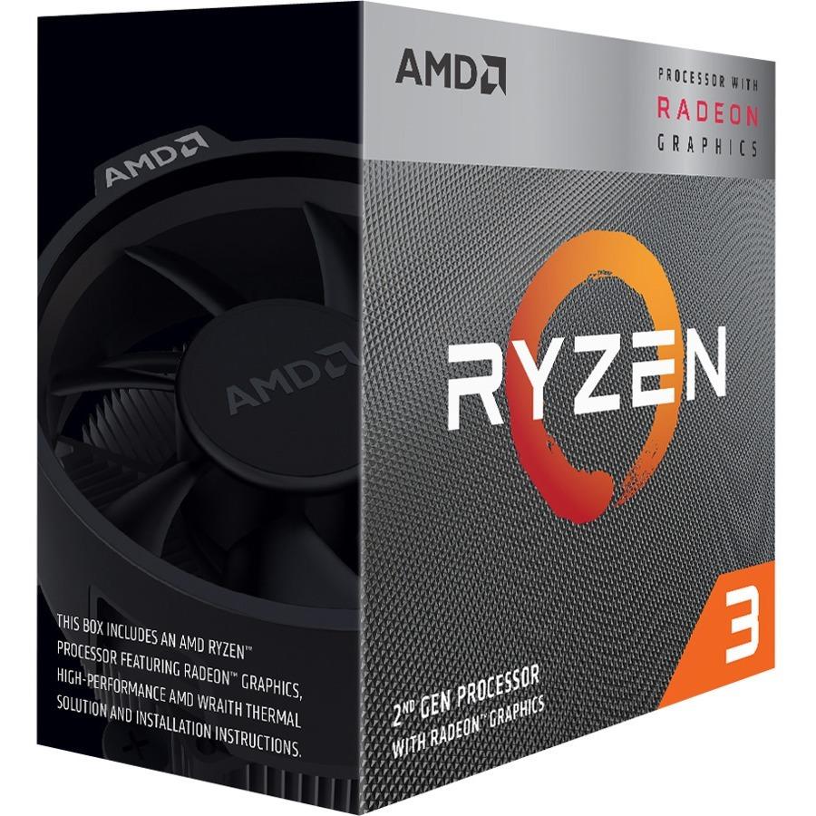 AMD Ryzen 3 3200G Quad-core (4 Core) 3.60 GHz Processor - Retail Pack - 4 MB Cache