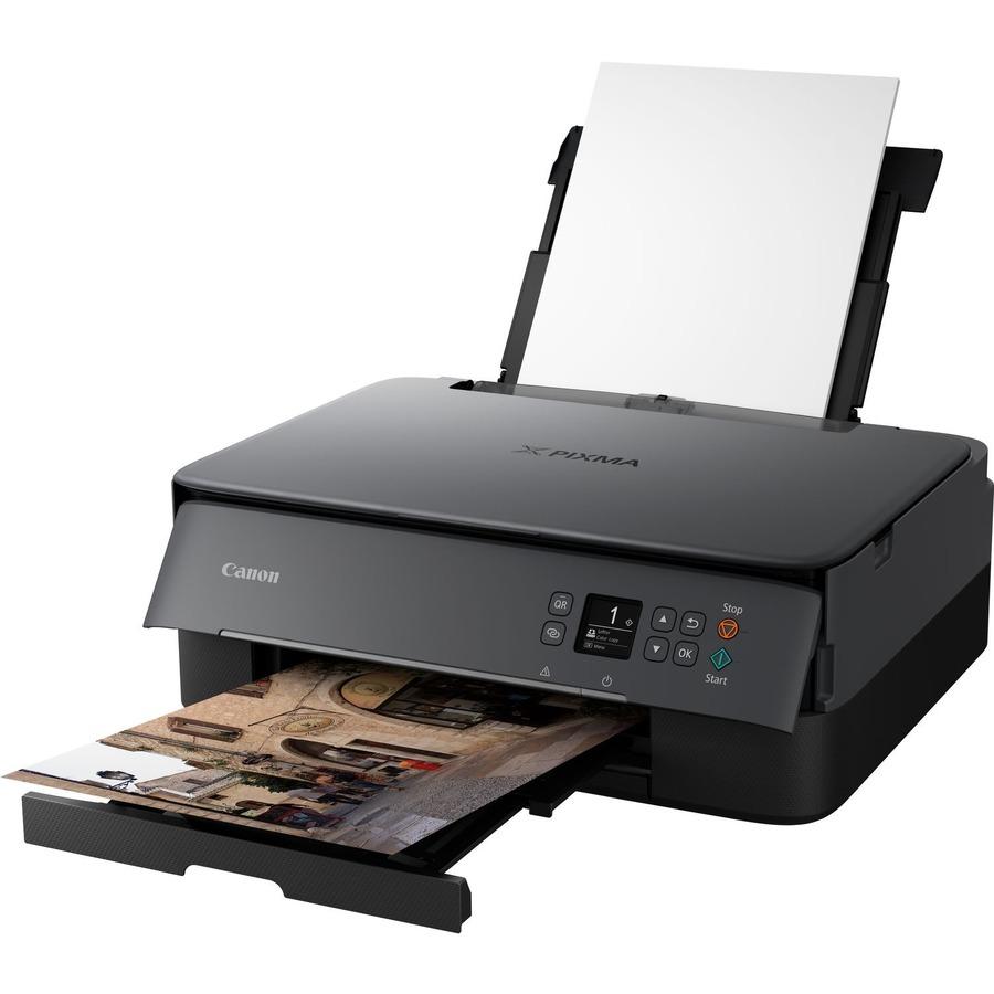 CANON PIXMA TS5350 TS5350 (Black) Inkjet Multifunction Printer - Colour - Copier/Printer/Scanner