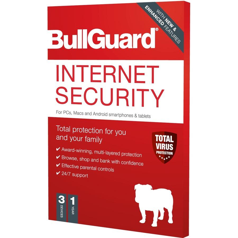 BULLGUARD Internet Security 2020 - PC, Mac