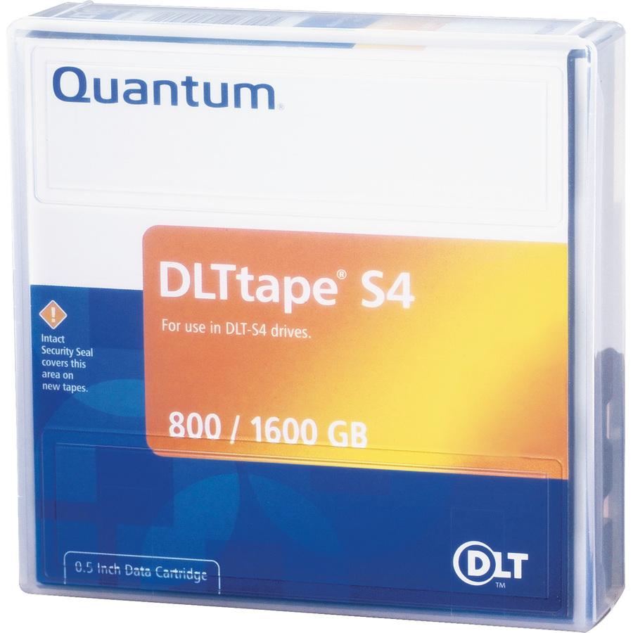 QUANTUM Data Cartridge DLTtape S4 - 1 Pack - 800 GB (Native) / 1.60 TB (Compressed)