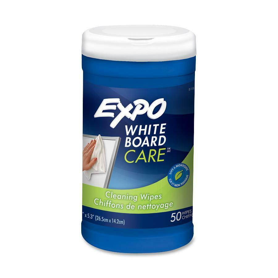 7c8ef30336cff Expo White Board Cleaning Towelettes - 6