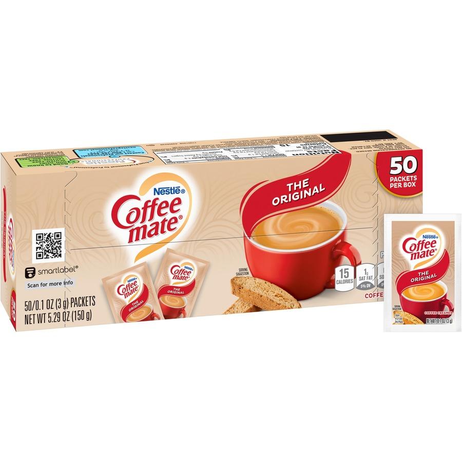 Nestlé® Coffee-mate® Coffee Creamer Original - powder packets - Original Flavor - 0.01 lb (0.11 oz) ...