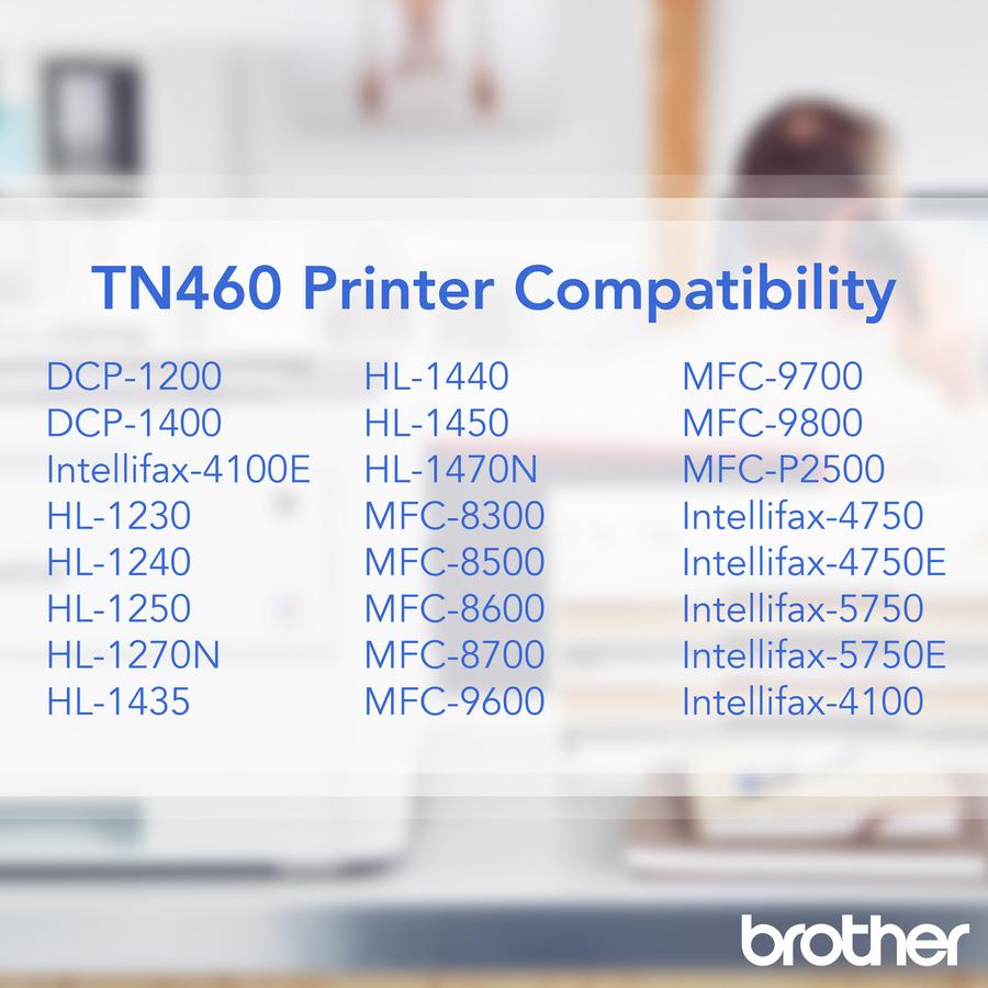 Brother Hl 1230 Hl 1440 Hl 1450 Hl 1470n Laser Printer: Brother TN460 Original Toner Cartridge