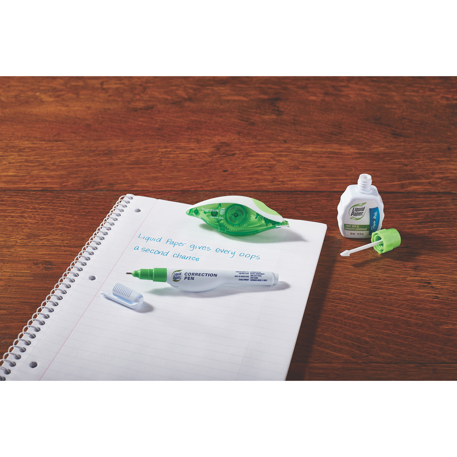 paper mate liquid paper dryline correction tape icc business