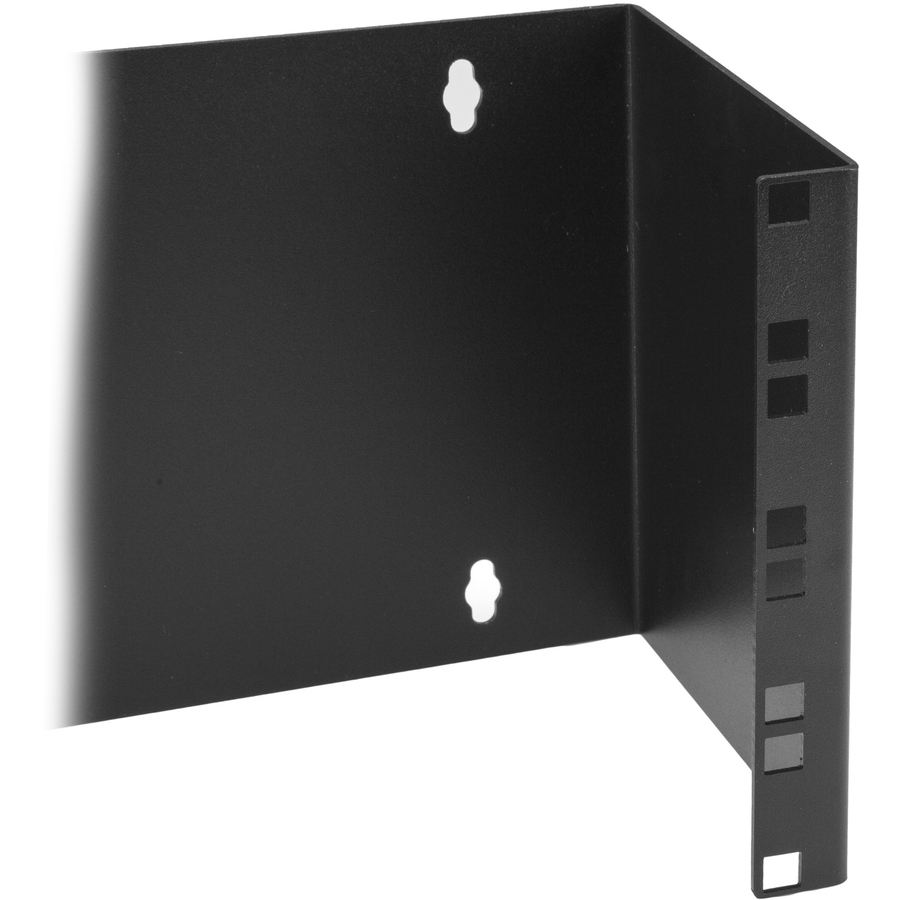 StarTech.com 4U 19in Hinged Wall Mounting Bracket for Patch Panels - Steel - Black