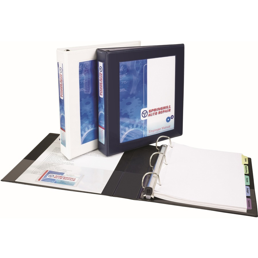 """Avery® Framed View Binder, 3"""" One-Touch EZD(R) Rings, 670"""